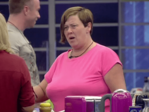 Celebrity Big Brother 2014: White Dee goes head-to-head with Audley Harrison and Kellie Maloney over a bacon sandwich