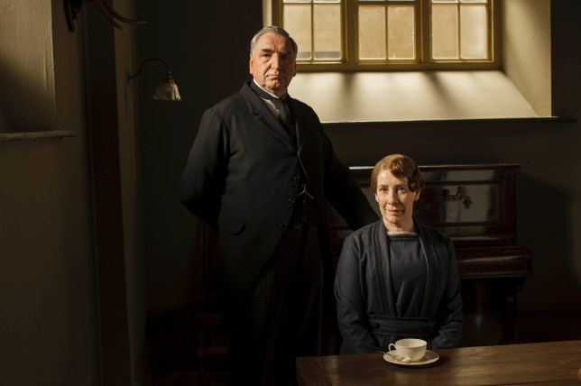 Carson, Mrs Hughes, Downton Abbey