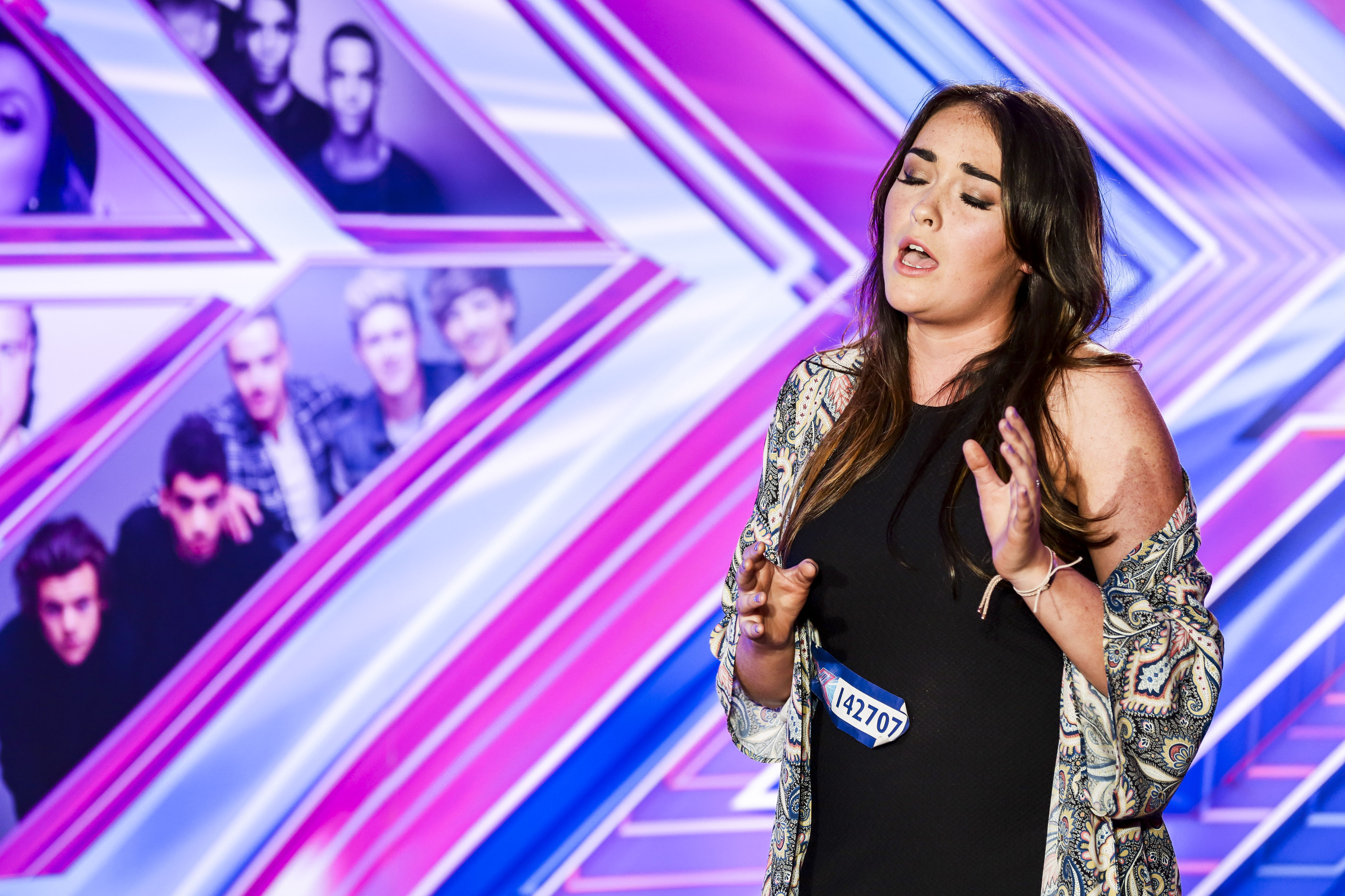 Fishmonger Lola Saunders is straight in as joint favourite alongside Jay James to win The X Factor 2014