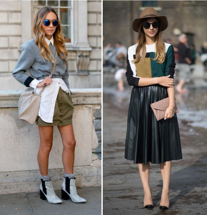 All the best dressed people at London Fashion Week SS15