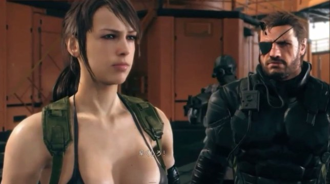 Metal Gear Solid V: The Phantom Pain - it's perpetual wash day for Quiet