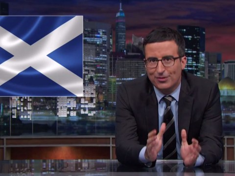 You can finally watch John Oliver's segment on Scottish independence (and it's worth the wait)