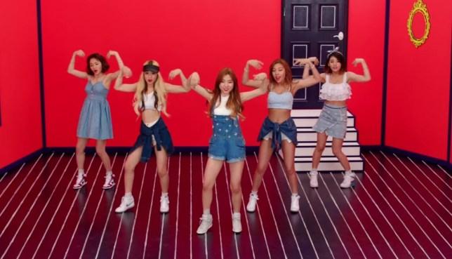 ladies code, EunB, Rise, Sojung, Ashley, Zuny