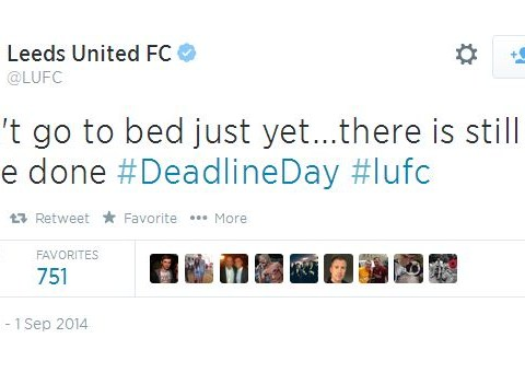 Leeds United Twitter account trolls fans on transfer deadline day, fans react exactly as expected