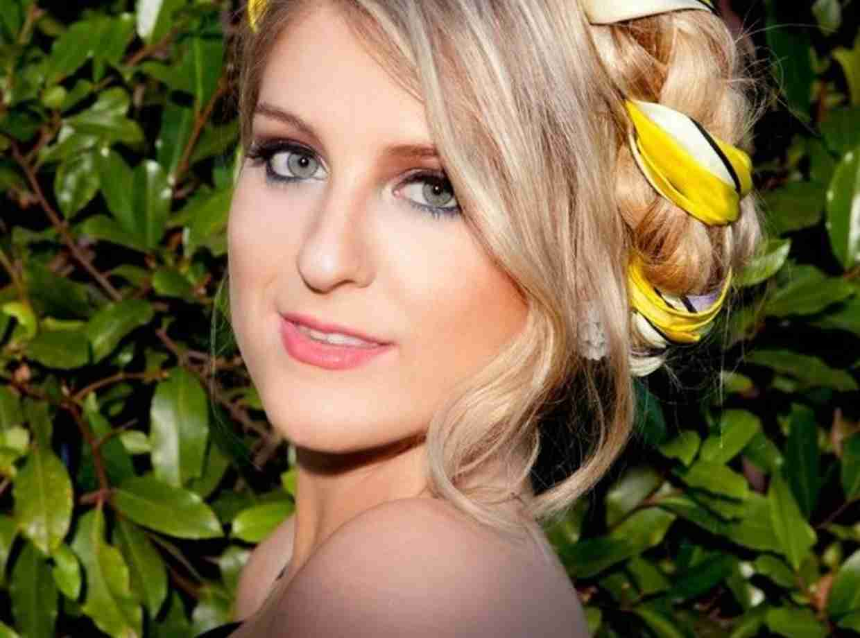 Meghan Trainor, whose track All About That Bass is released in the UK this week
