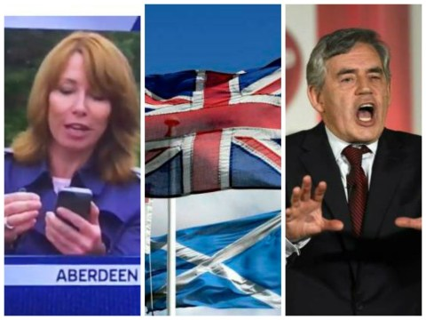 Yes, Kay Burley did call a Scottish independence campaigner a 'knob' live on Sky News. Oops