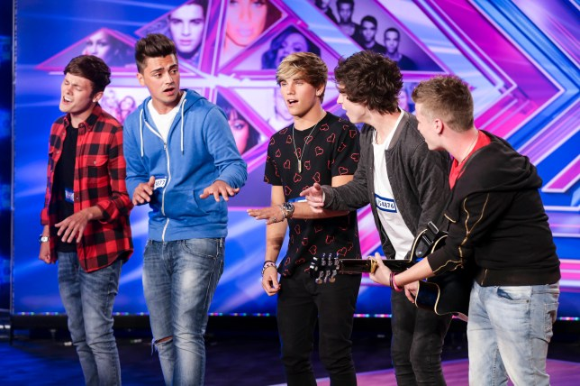 Overload sailed through their first audition, but sadly it wasn't to be come bootcamp (Picture: THAMES TV/SYCO)