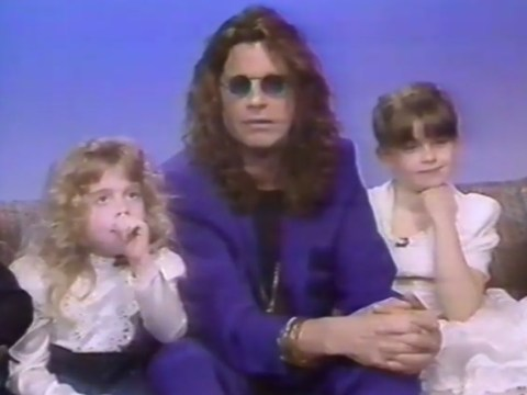 Watch six-year-old Kelly Osbourne's first encounter with Joan Rivers in 1991
