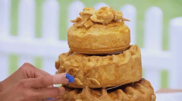 The Great British bake Off 2014: Pie week