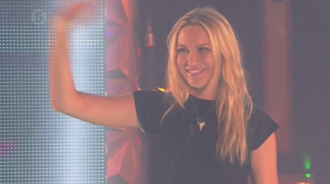 Stephanie became the fourth housemate to be evicted (Picture: Channel 5)