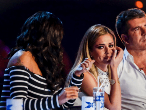 The X Factor 2014: Cheryl Cole cries ALL the way through Andrea Faustini's bootcamp performance