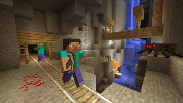 Minecraft - now property of Microsoft