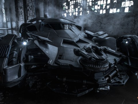 Here is the first look at Batfleck's Batmobile for Dawn of Justice, courtesy of Zack Snyder