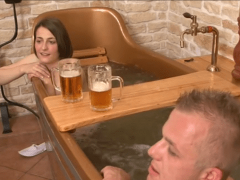 This place is a pub and a spa and all of your wildest dreams come true