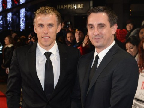 Gary Neville mocks younger brother Phil's commentary style after calling him 'boring'