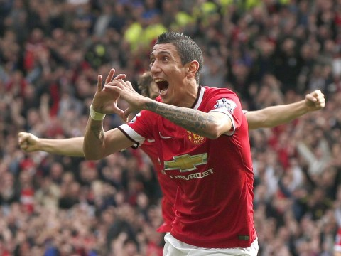 Angel Di Maria pulls off incredible mid-air backheel pass for Manchester United – minutes before scoring against Everton