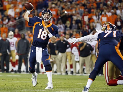 Why Peyton Manning's NFL touchdown record looks set to run and run