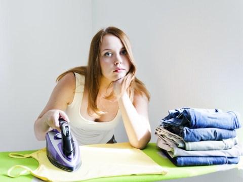 Women do twice as much housework as men