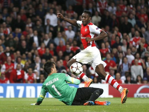 Watch Danny Welbeck bag first ever career hat-trick for Arsenal against Galatasaray