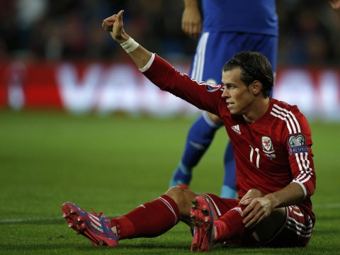 Gareth Bale sets up second Wales goal with incredible back-heel flick