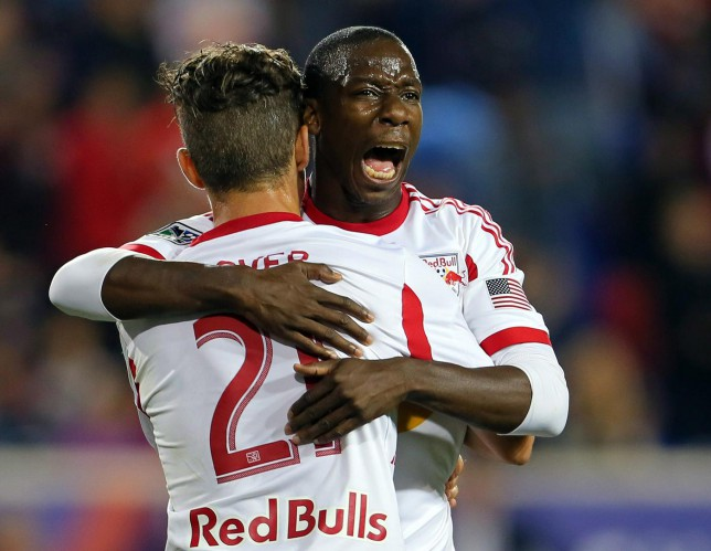 New York Red Bulls' Bradley Wright-Phillips is England's most in-form striker as he ties MLS record for single-season goal tally against Sporting Kansas City