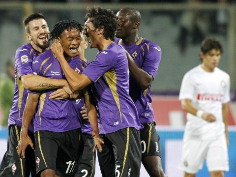 Manchester United target Juan Cuadrado scores absolute stunner in Fiorentina's 3-0 win over Inter Milan