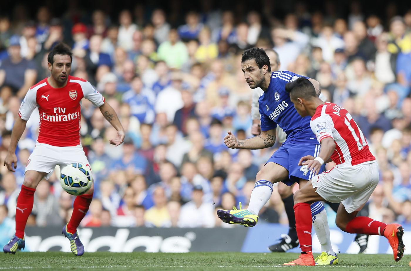 Cesc Fabregas: Arsenal fans love me but I want to win everything at Chelsea
