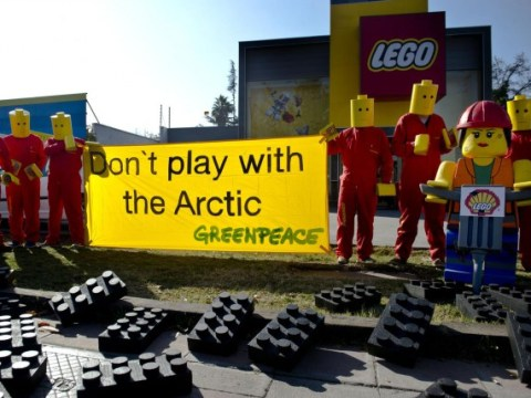 Lego to end Shell oil partnership after Greenpeace protests