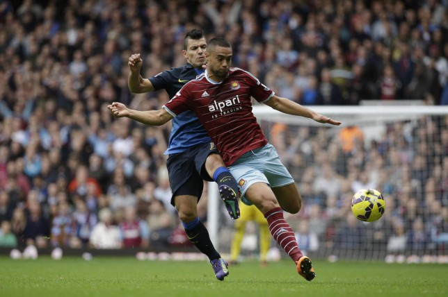 Arsenal 'chasing West Ham defender Winston Reid ahead of January move'