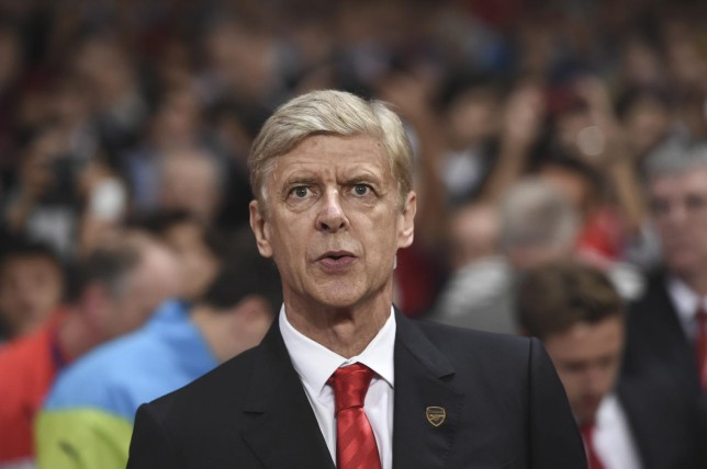 Arsenal's coach Arsene Wenger looks on during the Champions League Group D soccer match between Arsenal and Galatasaray , at the Emirates Stadium in London, on Wednesday, Oct 1, 2014. (AP Photo/ Tim Ireland) AP Photo/ Tim Ireland