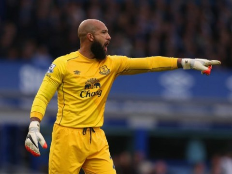 How Tim Howard has given Everton an unusual cause for concern