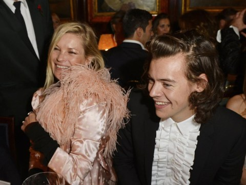Kate Moss and Harry Styles party like it's 1979 at Annabel's