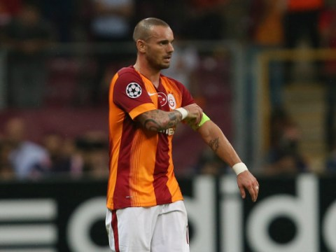Manchester United ready to grab Wesley Sneijder for free after Galatasaray wage row