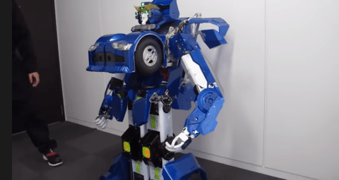 Someone made a working Transformer robot, yes really