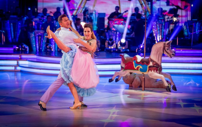 Strictly Come Dancing 2014 - Pasha Kovalev, Caroline Flack (Picture: BBC)