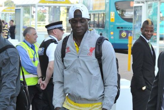 How many Mario Balotellis were included in the Liverpool squad for the defeat against Basel?