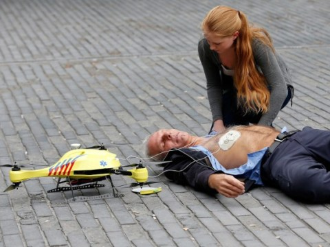 Ambulance drone with built-in defibrillator 'could save thousands of lives'