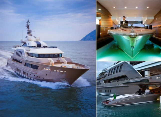 The Luxury J Ade Super Yacht Has A Unique Floating Garage For The
