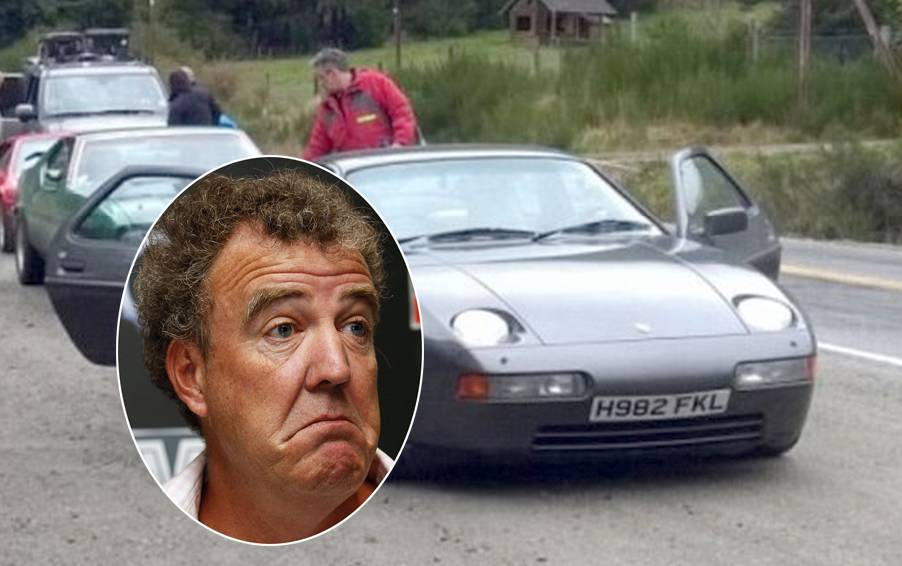 Top Gear team forced to flee angry protesters because of Jeremy Clarkson's 'Falklands number plate'