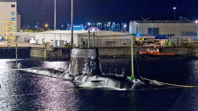 Artful, the third Astute class submarine, undertaking her maiden dive in Barrow in Furness. Artful, the third Astute class submarine being built by BAE Systems for the UK Royal Navy, has successfully completed her first ever dive - a landmark milestone in preparation for sea trials next year. The 7,400 tonne, 97 metre long state-of-the-art attack submarine, which was launched in May this year,  was submerged to a depth of 15 metres to allow naval architects to calculate its precise weight and centre of gravity     calculations that are essential for the boat to safely dive and resurface when deployed.  This operation, known as the    trim and incline test', took place over two days, to prove the submarine's safety and stability in the water. The maiden dive was undertaken in the dock on BAE Systems' site in Barrow-in-Furness and involved a team of 80 highly-skilled personnel, including naval architects, engineers and UK Royal Navy crew members.