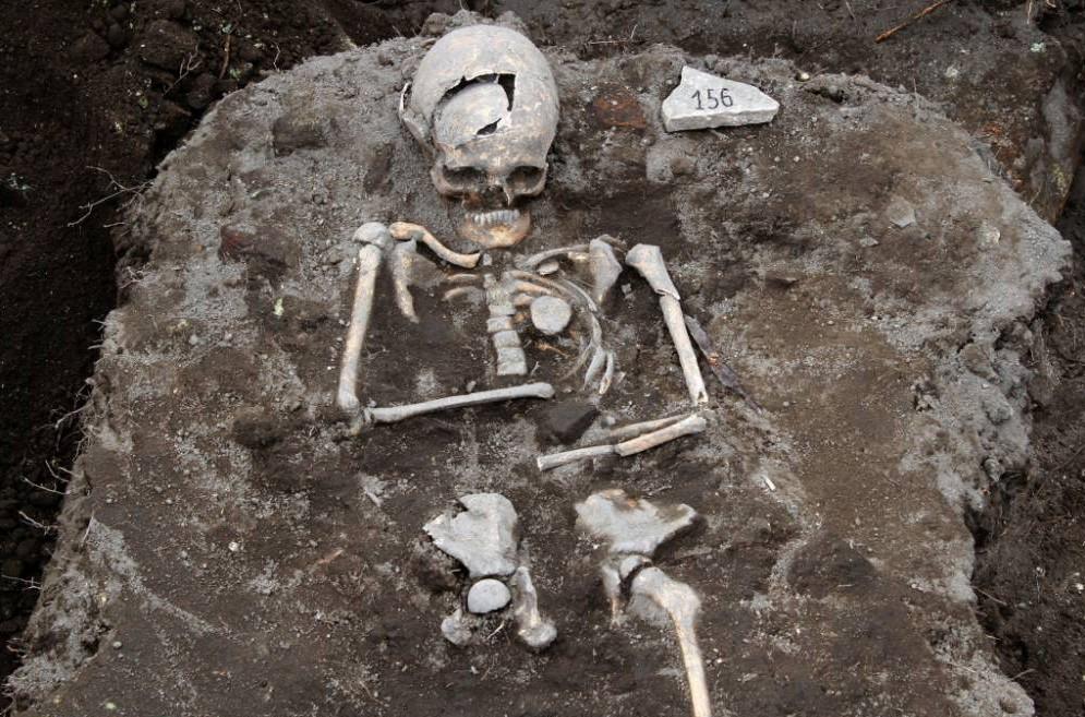 Vampire grave, Bulgaria