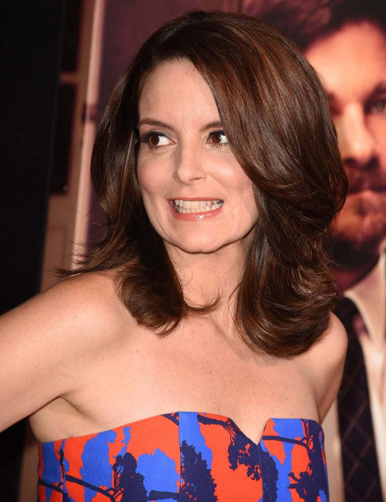 """HOLLYWOOD, CA - SEPTEMBER 15:  Tina Fey arrives at the """"This Is Where I Leave You"""" - Los Angeles Premiere at TCL Chinese Theatre on September 15, 2014 in Hollywood, California.  (Photo by Steve Granitz/WireImage)"""