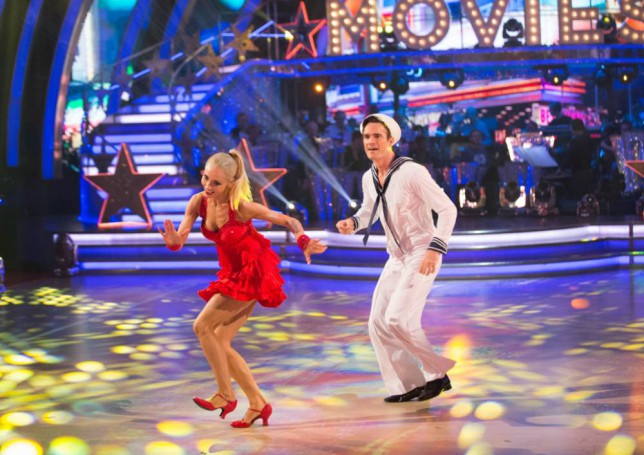 Strictly Come Dancing 2014: Thom Evans and Iveta Lukosiute 'just good friends'