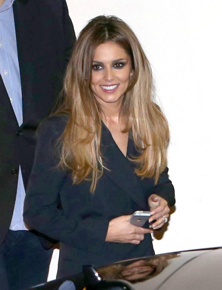 Mandatory Credit: Photo by REX (4191680j)  Cheryl Fernandez-Versini  'The X Factor' stars at Fountain Studios, London, Britain - 11 Oct 2014