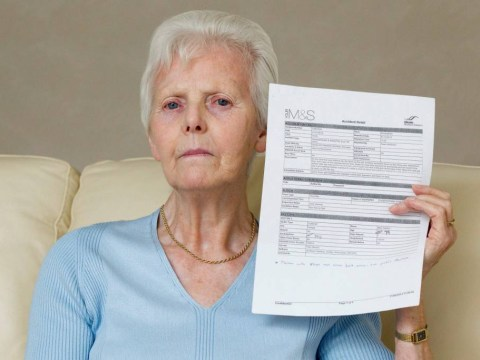 Pensioner 'breaks back after being thrown by M&S doors'