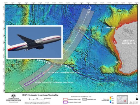 Airline boss: No evidence to suggest missing MH370 crashed in the Indian Ocean