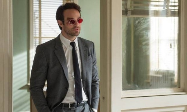 Charlie Cox as Daredevil in the daytime. Photograph: Barry Wetcher © 2014 Netflix, Inc.