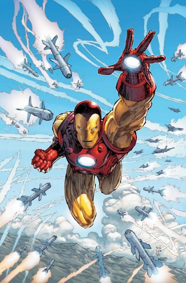 Iron Man takes on Captain America in marvel's Civil War