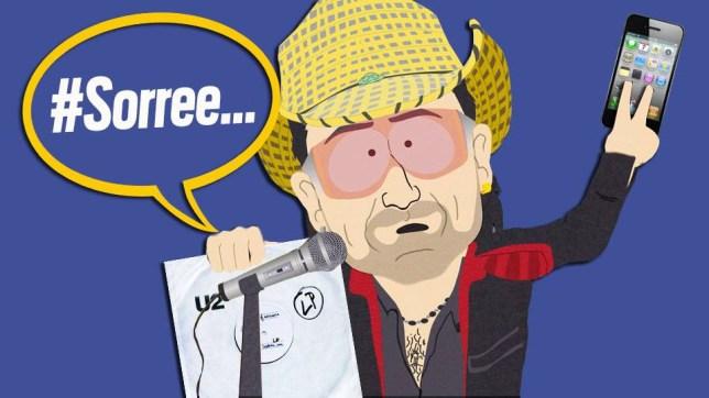 Bono South Park comp