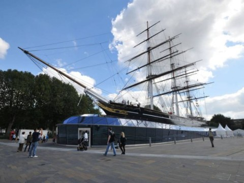 London's historic clipper ship Cutty Sark damaged by fire AGAIN